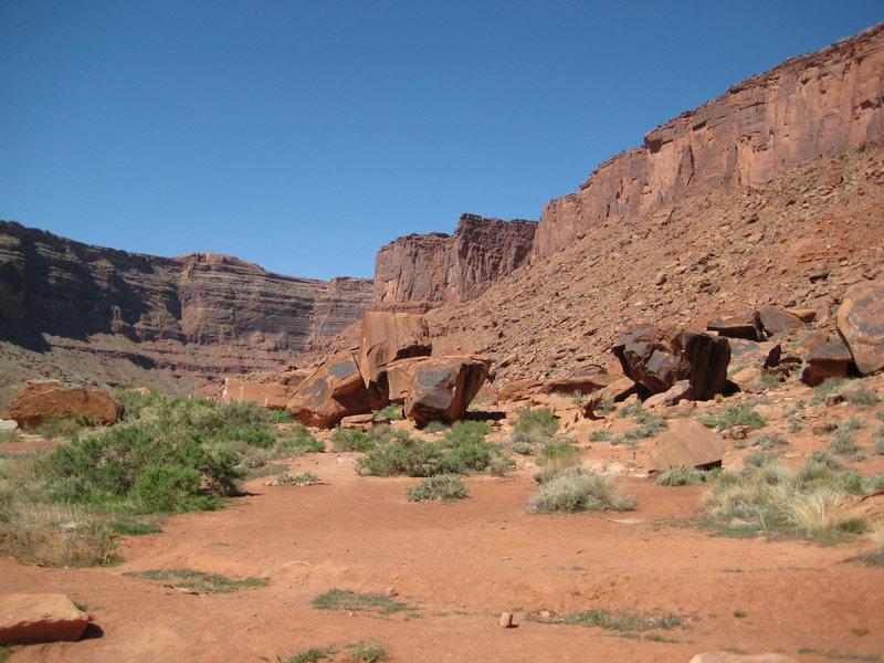 Big Bend Boulders.