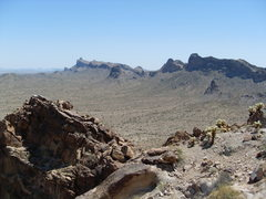 Rock Climbing Photo: View from atop the main rock prior to tower sectio...