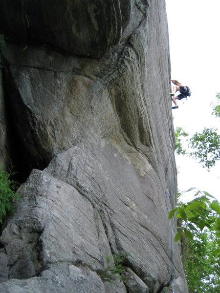 Climber on Smooth as Silk