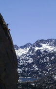 Rock Climbing Photo: Vic Lawson belaying Cullen Kirk up the end of the ...