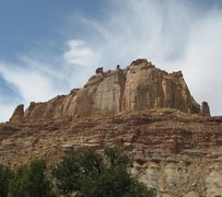 Rock Climbing Photo: The Pinnacle Formation . On the left Is the smalle...