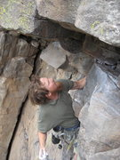 Rock Climbing Photo: trinity crack oak creek overlook