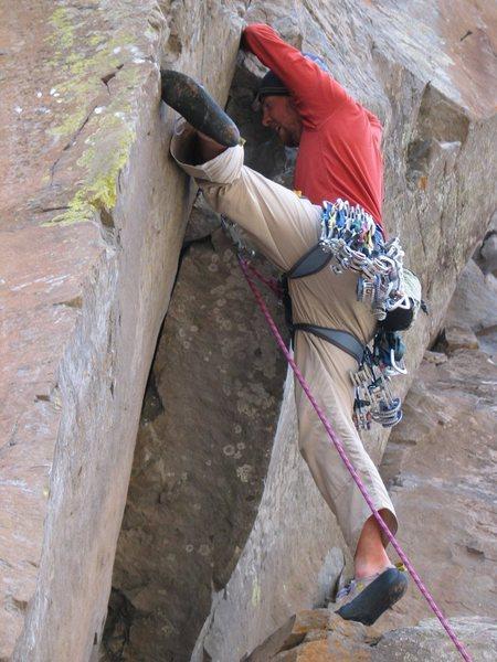 Rock Climbing Photo: paradise forks