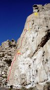 Rock Climbing Photo: Picture Topo...