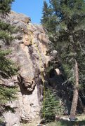 Rock Climbing Photo: Tasty Freeze (5.9), Chilly Willy Wall, Las Conchas...