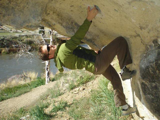 boulder problem on the hike up