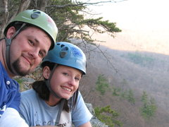 Rock Climbing Photo: Here is a nice little shot from the top of the sec...