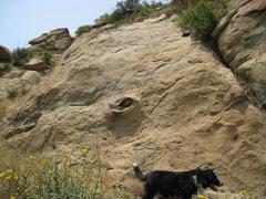 Rock Climbing Photo: Rocky Peak eyeball
