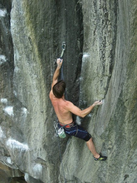 Rock Climbing Photo: Though I'm going on Cold War, this is a good look ...