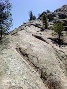 Rock Climbing Photo: Line of least resistance