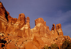 Rock Climbing Photo: The late day light here is similar to that of the ...