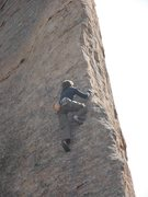 Rock Climbing Photo: Me on the Edge of Time