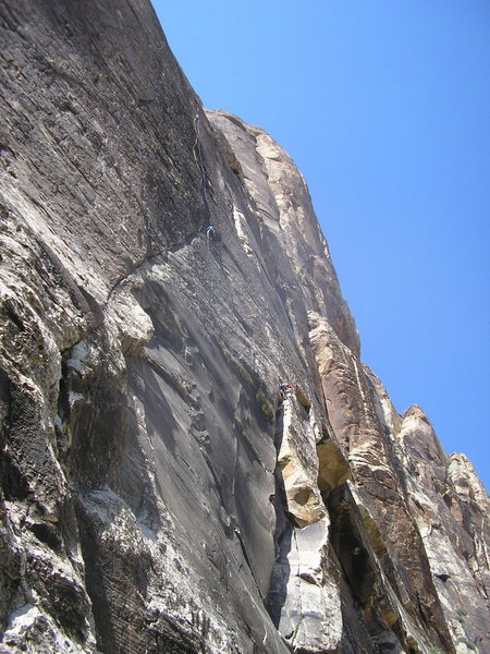 Rock Climbing Photo: Yellow Brick, P1