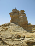 Rock Climbing Photo: Maura on the summit of Worth The View Spire after ...