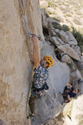 Rock Climbing Photo: Robb Kulin starts Uncle Fester.