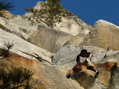 Rock Climbing Photo: Darshan solos Fingertrip
