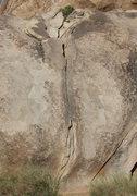 "Rock Climbing Photo: ""White Crack"". Photo by Blitzo."