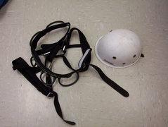 Rock Climbing Photo: Helmet and Harness