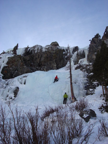 Rock Climbing Photo: Main Flow