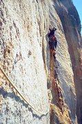 Rock Climbing Photo: Next pitch of WDDD