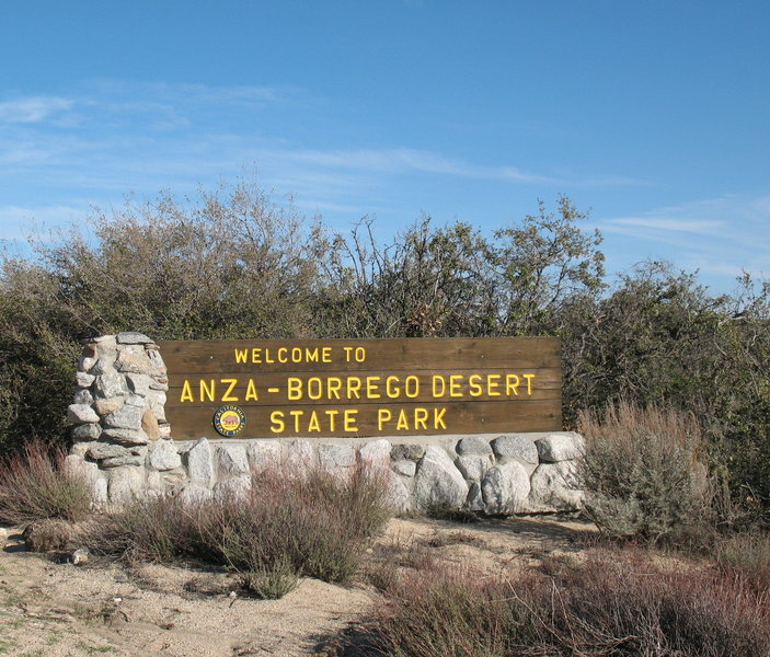 Just down the road from Ranchita, San Diego County.