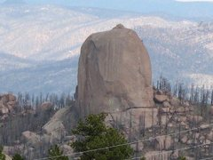 Rock Climbing Photo: The Turret.  Photo courtesy Doug Shaw.