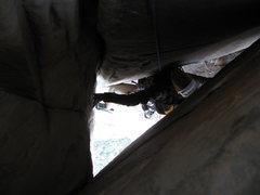 Rock Climbing Photo: Deep chunnel