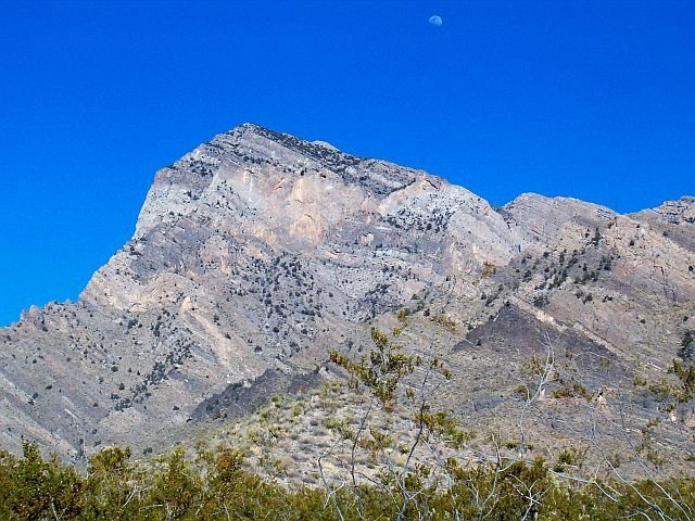 Rock Climbing Photo: Providence Mountains, Mojave NP