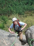 Rock Climbing Photo: Alex...WHAT!!!