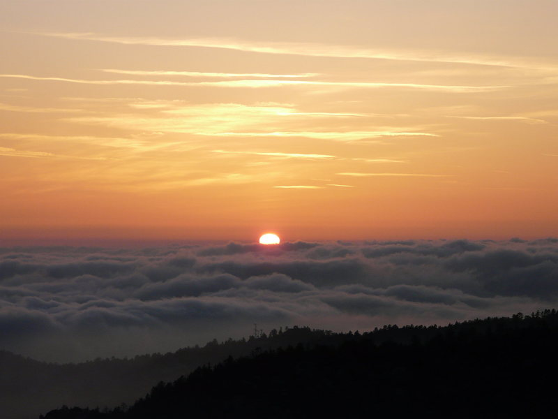 Rock Climbing Photo: A great end to a great day in Idyllwild