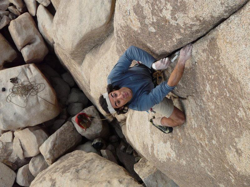 Rock Climbing Photo: Darshan on Cedric's Deep Sea Fish Market. Photo by...
