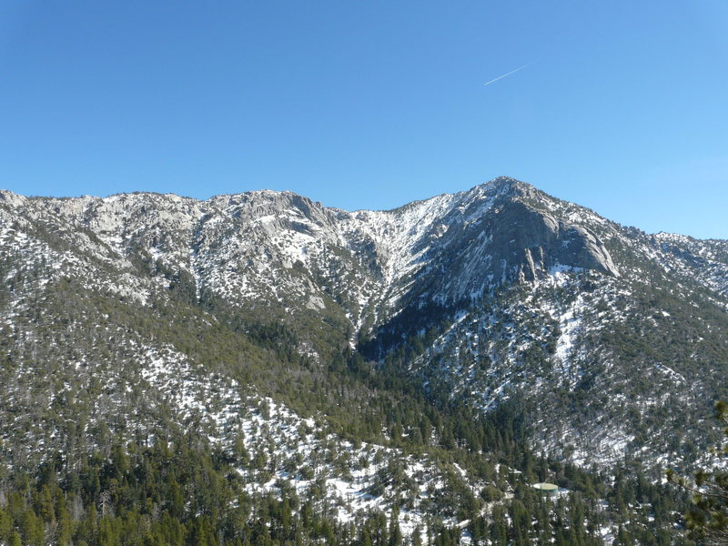 Rock Climbing Photo: Tahquitz on a bright winter day