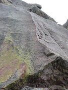 Rock Climbing Photo: The Sacred and the Profane follows the arete.  The...