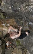 Rock Climbing Photo: Fred on kundalini