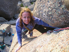Rock Climbing Photo: Finally, 5.9
