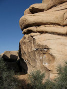 Rock Climbing Photo: Sandy Wash Corridor profile from the east. Photo b...