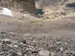 Rock Climbing Photo: lovely scree hike