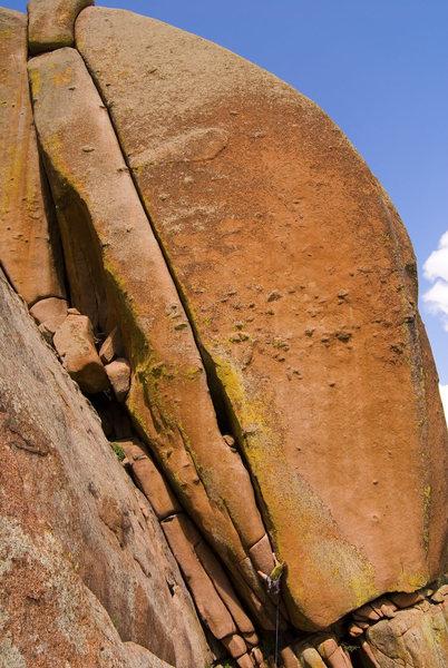 Rock Climbing Photo: Horn's Mother... she's a beaut!