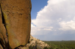 Rock Climbing Photo: After The Storm.