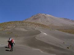 Rock Climbing Photo: The hump up to El Misti, a volcano near Arequipa.