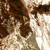 Gomoll climbs the long 3rd pitch dihedral