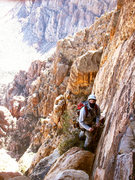 Rock Climbing Photo: Beware of rock ninjas at pitch 4 belay