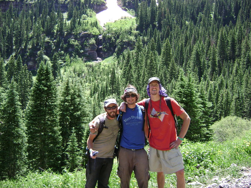 Strong boulderer josh. and strong personality James dean w/ A. Wol in Telluride.
