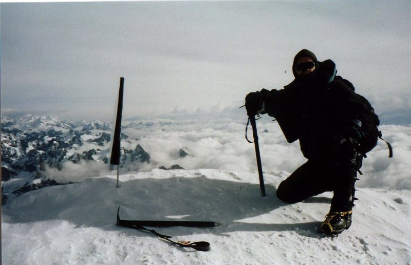 Pete on the summit.