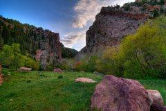 Rock Climbing Photo: Springtime in Eldo.