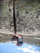 Rock Climbing Photo: 5.16XXX-VS upside down crack near Neva. Gnarl.