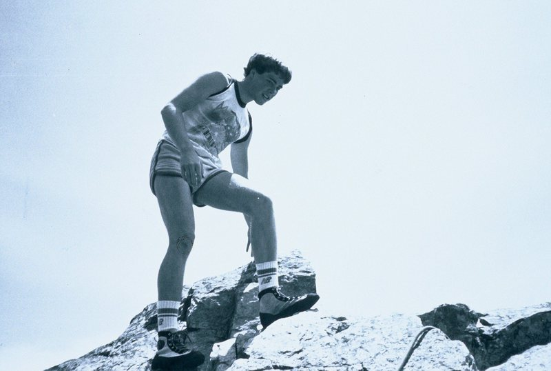 Rock Climbing Photo: summit of Baxters circa 1983