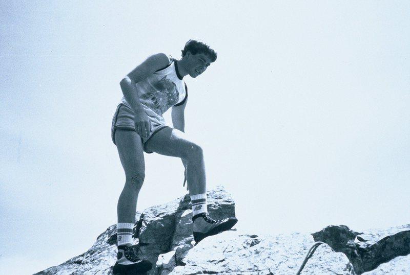 Rock Climbing Photo: summit of Baxters circa 1983