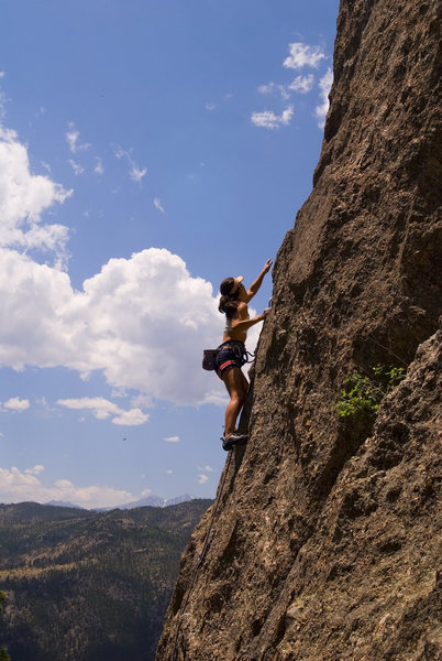 Rock Climbing Photo: Somewhere in the Outer Gates.