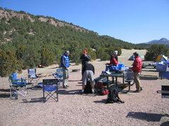 Rock Climbing Photo: Cico de Shelf 2008 participants.